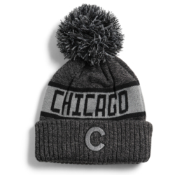 Chicago Black and Grey Winter Hat sold by I Love Chicago